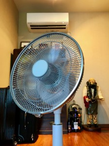 エアコンと扇風機