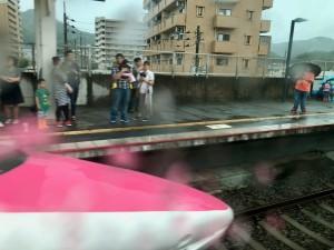 キティ新幹線