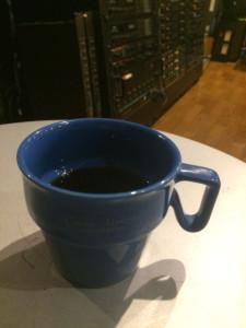 スタジオ、コーヒーカップ