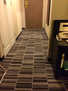 ホテルの小部屋