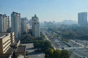 上海ホテルの部屋から1