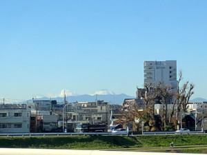 二子玉川富士山